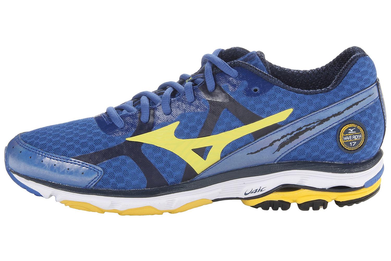 Mizuno Wave Rider 17 кроссовки для бега синие - 6