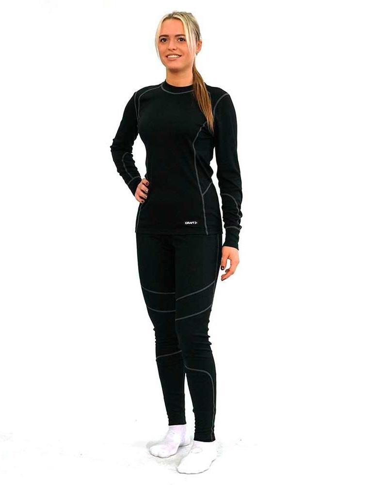 Craft Baselayer комплект термобелья женский черный - 5