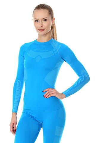 BRUBECK DRY терморубашка женская синяя