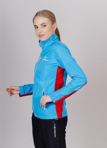 Nordski Premium беговой костюм женский Black-Blue
