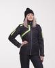 Nordski Premium женская утепленная лыжная куртка black/green - 1