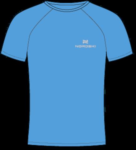 Nordski Sport футболка мужская light blue