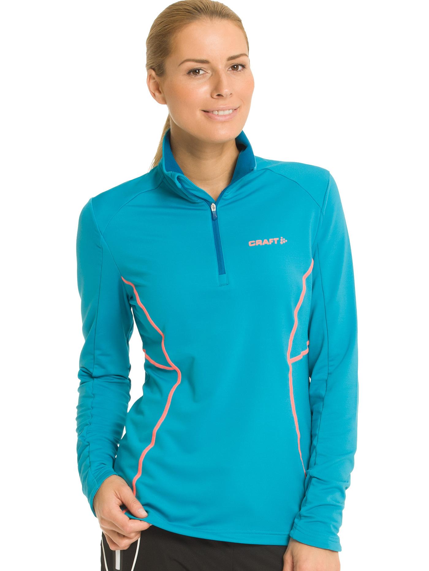 Толстовка пуловер Craft Lightweight женская blue - 3