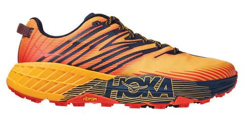Hoka One One Speedgoat 4 кроссовки для бега мужские оранжевые