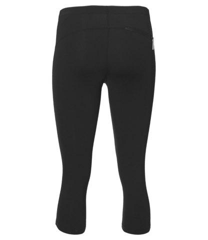 Беговые тайтсы женские Asics Stripe Knee черные