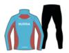 Nordski Premium беговой костюм женский Black-Blue - 2