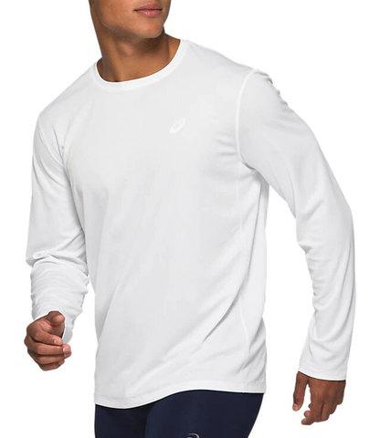 Asics Katakana Ls футболка с длинным рукавом мужская белая