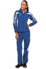 Спортивный костюм Mizuno Woven Track Suit (W) голубой