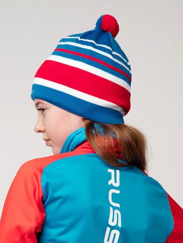 Nordski Bright RUS лыжная шапка blue