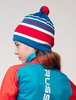 Nordski Bright RUS лыжная шапка blue - 4