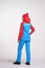 Nordski Jr National детский прогулочный костюм синий-красный - 4
