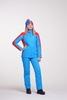 Nordski Jr National детский прогулочный костюм синий-красный - 3