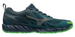 Mizuno Wave Ibuki GoreTex кроссовки беговые мужские синие-зеленые