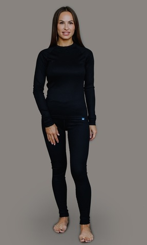 Nordski Warm комплект термобелья женский black