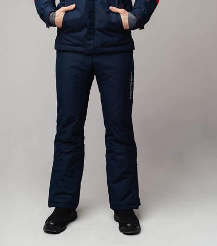 Nordski Mount лыжные утепленные брюки мужские dark blue