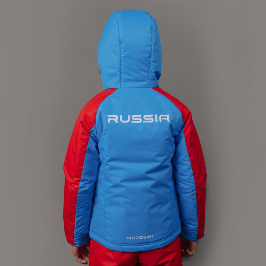 Nordski Jr National 2.0 утепленная лыжная куртка детская - 4
