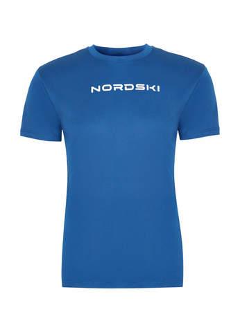 Nordski Jr Logo футболка детская navy