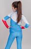 Nordski Jr Premium RUS детский гоночный комбинезон blue - 3