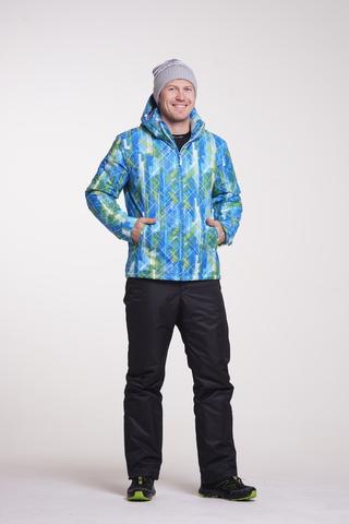 Nordski City мужской лыжный костюм синий-черный