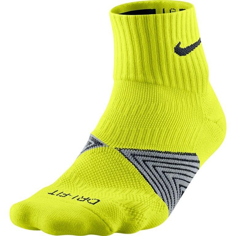 Носки Nike Run Dri Fit Socks жёлтые