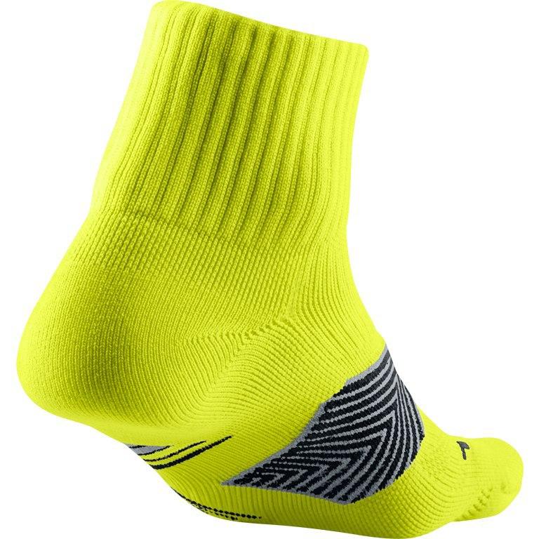Носки Nike Run Dri Fit Socks жёлтые - 2