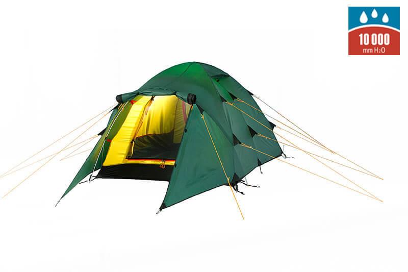 Alexika Nakra 3 туристическая палатка трехместная - 1