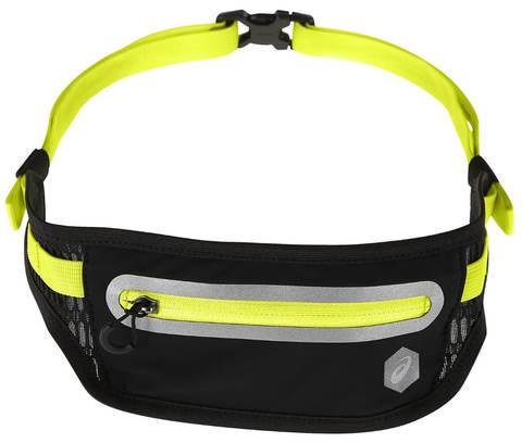 Asics Waist Pouch M сумка пояс черная-желтая