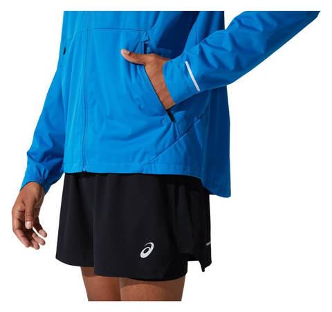 Asics Ventilate Jacket ветровка мужская синяя