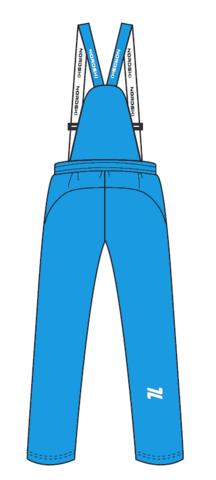 Nordski Junior утепленные лыжные брюки детские blue
