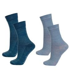Janus термоноски комплект 2 пары пепельно-синий