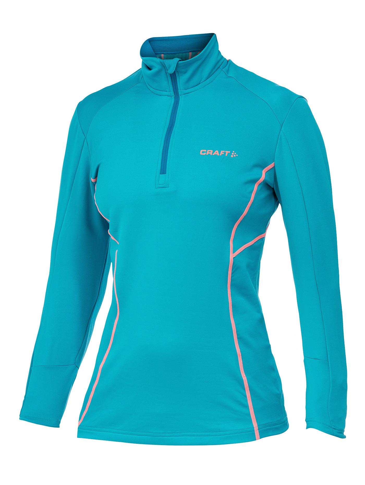 Толстовка пуловер Craft Lightweight женская blue - 4