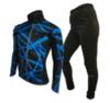Olly Bright Sport лыжный разминочный костюм blue - 1