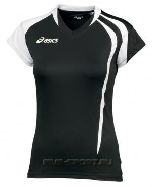 Asics T-Shirt Fanny Lady футболка волейбольная женская black
