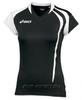 Asics T-Shirt Fanny Lady футболка волейбольная женская black - 1