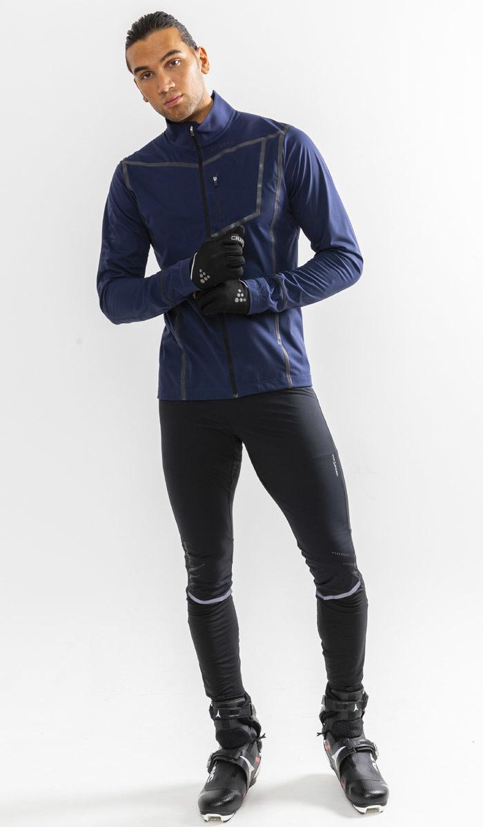 Craft Pace XC лыжная куртка мужская темно-синяя - 6