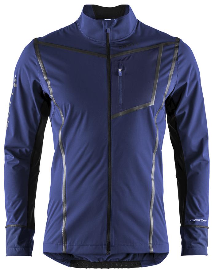 Craft Pace XC лыжная куртка мужская темно-синяя