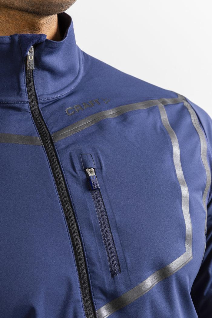 Craft Pace XC лыжная куртка мужская темно-синяя - 4
