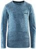 Термобелье рубашка детская Craft Comfort (blue) - 1