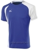 Mizuno Trade Top 351 футболка волейбольная мужская blue - 1