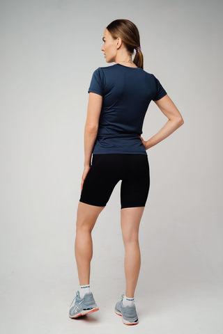 Nordski Jr Premium Run шорты обтягивающие детские Black-Blue