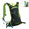 Mizuno Running Backpack рюкзак черный-зеленый - 2