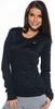 Футболка Nike Miler LS Top (W) /Рубашка беговая чёрная - 3