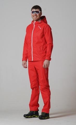 Nordski мужские ветрозащитные брюки red