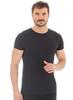 Термобелье мужское Brubeck Comfort Wool футболка черная - 1