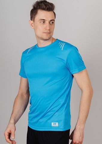 Nordski Run футболка для бега мужская blue