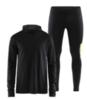 Craft Core Fuseknit Urban мужской костюм для бега черный - 1