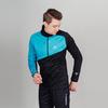 Детская лыжная куртка Nordski Jr Premium blue-black - 1
