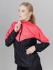 Nordski Sport Premium костюм для бега женский pink-black - 2