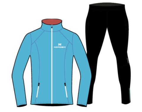 Nordski Premium беговой костюм женский Black-Breeze