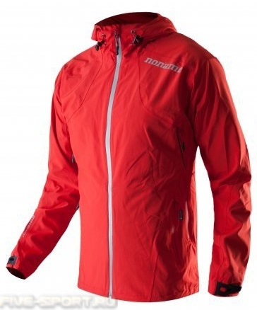 Куртка Noname Camp, унисекс, красная